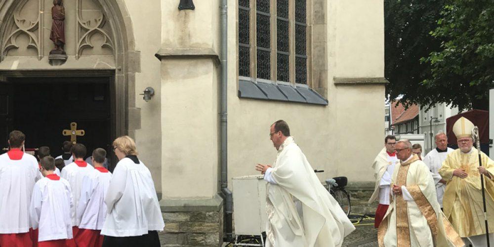 800 Jahre Stadt Geseke: Pontifikalamt mit Kardinal Marx