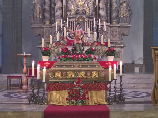 Patronatsfest in der Stiftskirche