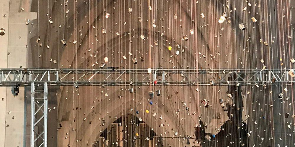 Installation Sternenraum von Gabriele Wilpers