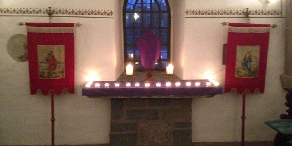 Gebete in der Bartholomäuskapelle