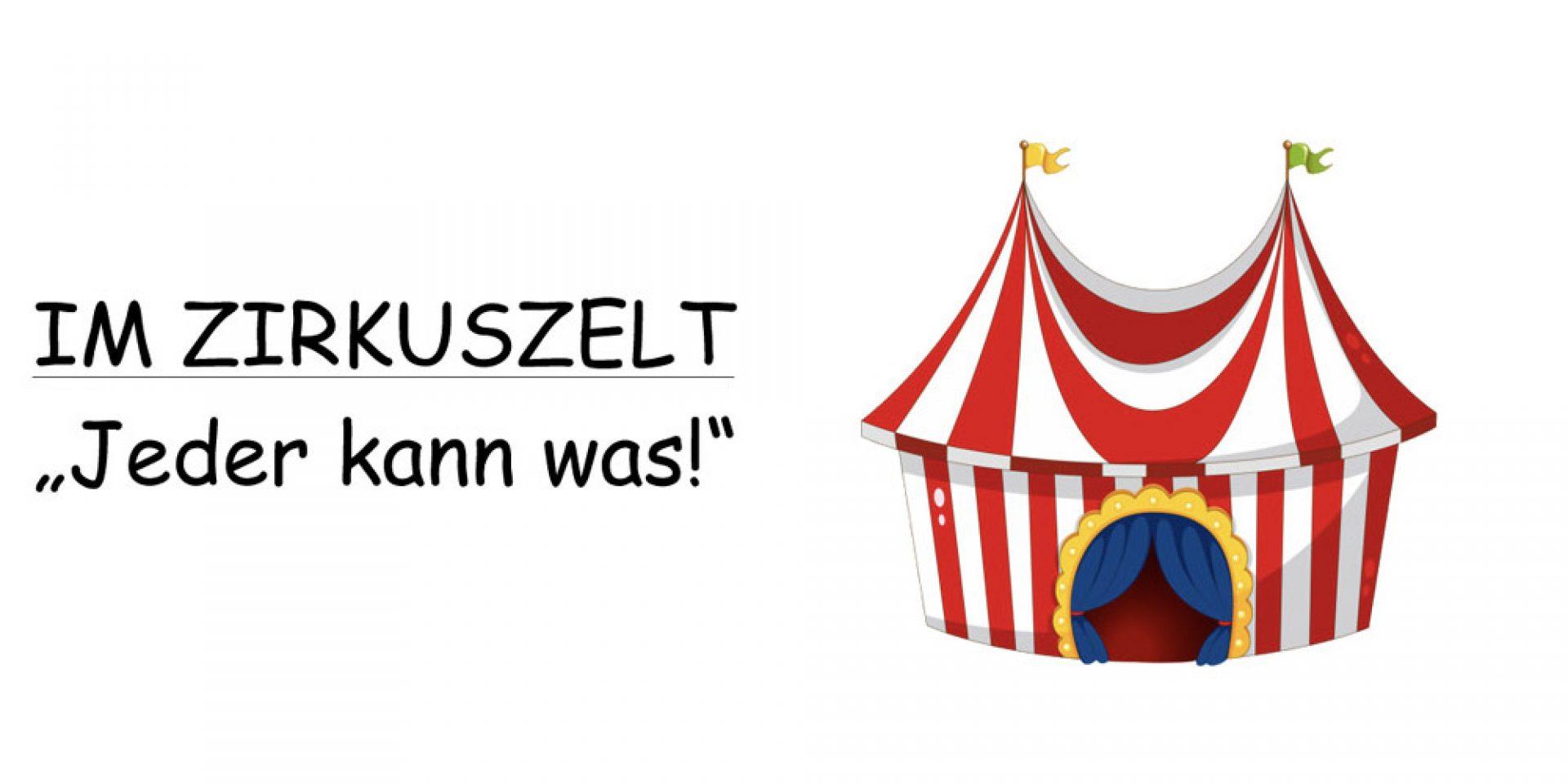 Kindergottesdienst im Zelt