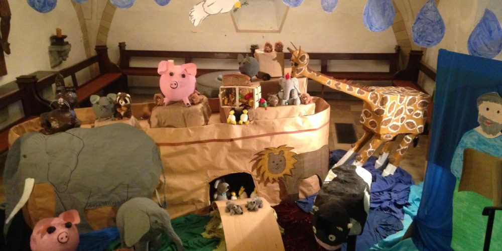Arche Noah in der Stiftskirche