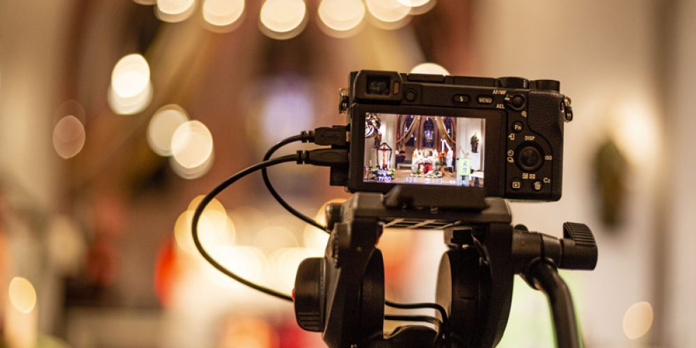 Live-Stream – Blick hinter die Kulissen