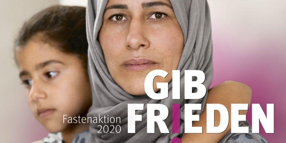 """Misereor Fastenaktion """"Gib Frieden"""""""