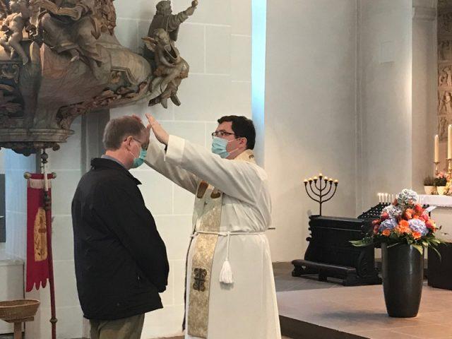 Primizsegen vom Neupriester Thorsten Hasse