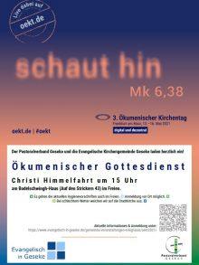 Ökumenischer Kirchentag – digital und dezentral