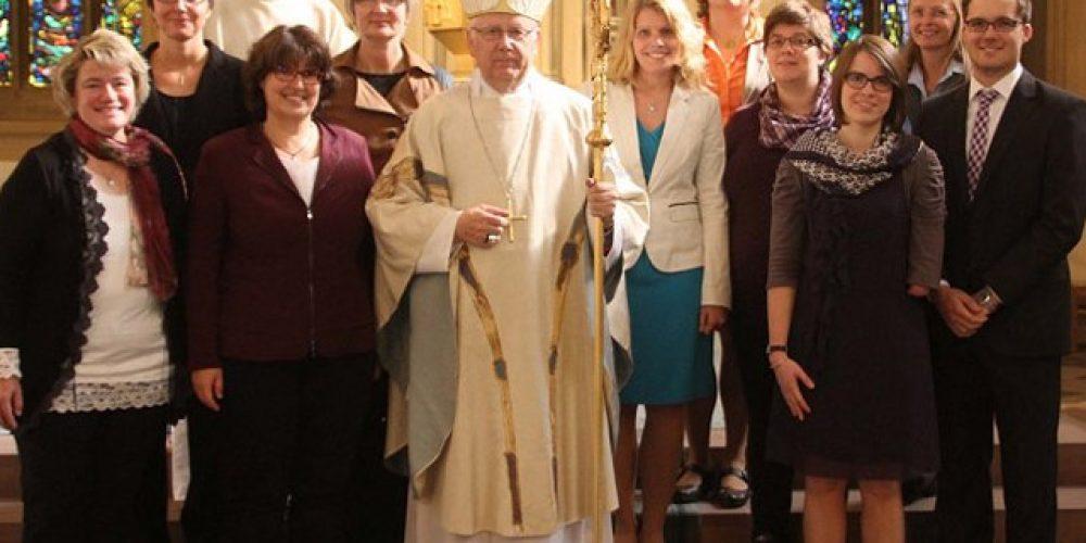 Cordula Picht zum Dienst als Gemeindereferentin beauftragt