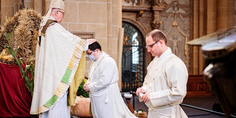 Thorsten Hasse zum Priester geweiht